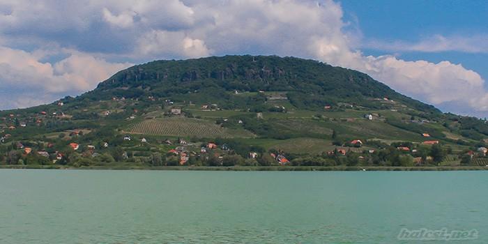 Badacsony : Vue du Lac Balaton