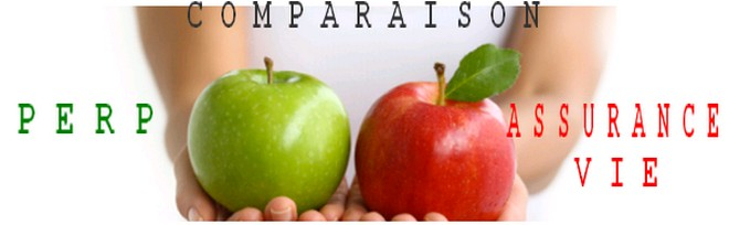 Comparaison PERP Assurance vie