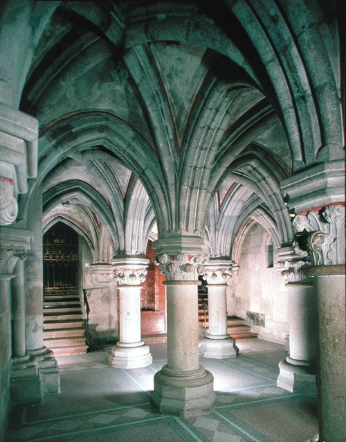 La partie basse abbaye Hongrie