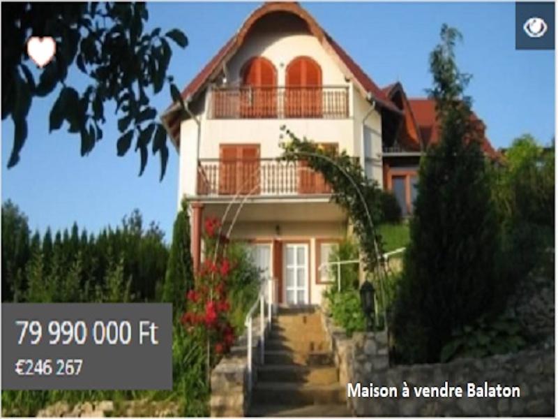 Maison à vendre Balaton