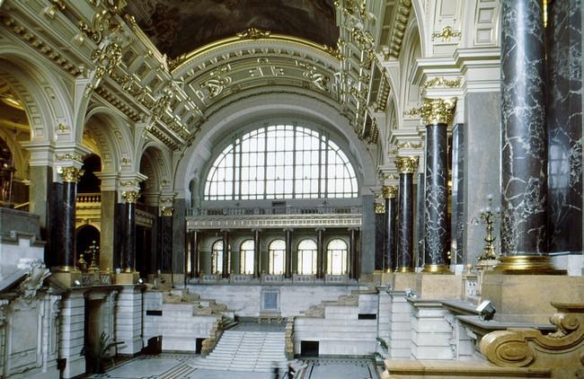 Musee Ethnograhie budapest interieur