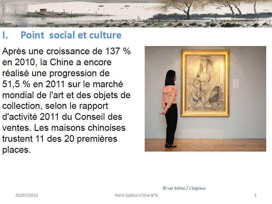 Point social et culture en Chine