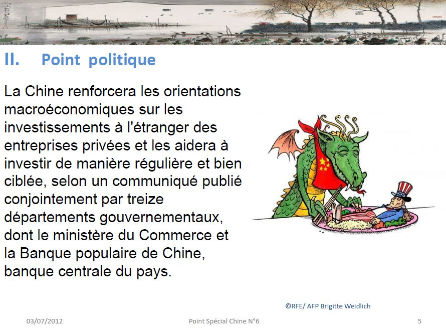 Point politique en Chine
