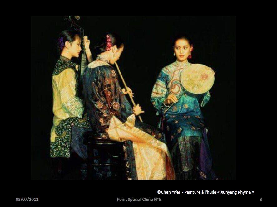 "Peinture à l'huile ""Xunyang Rhyme"""