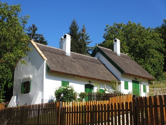 Une maison typique en Hongrie