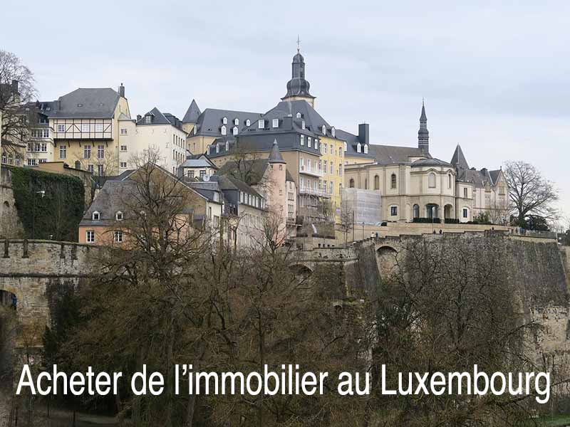 acheter immobilier luxembourg