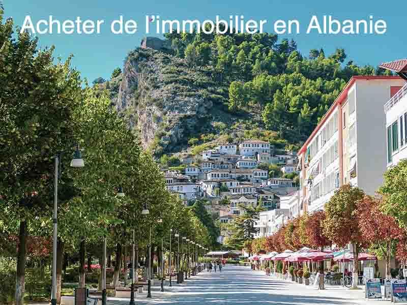 acheter immobilier Albanie