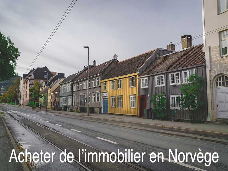acheter immobilier norvège