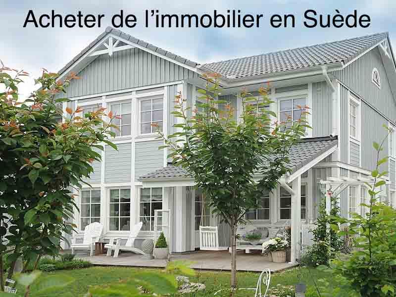 achat immobilier suède