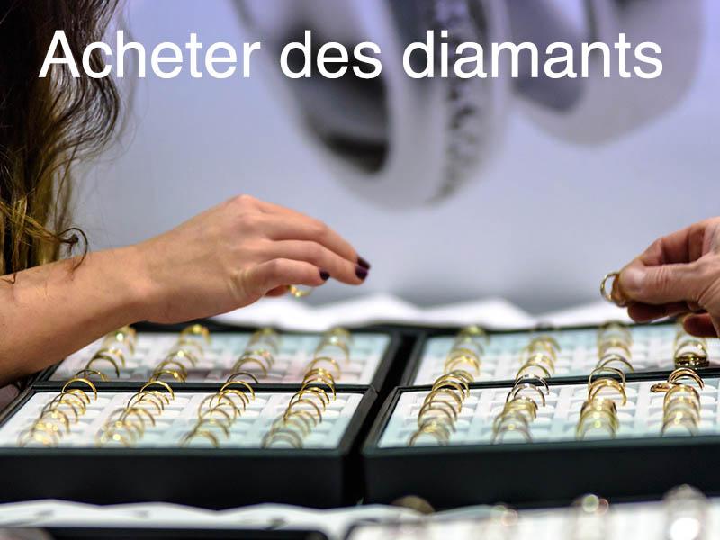 achat diamant