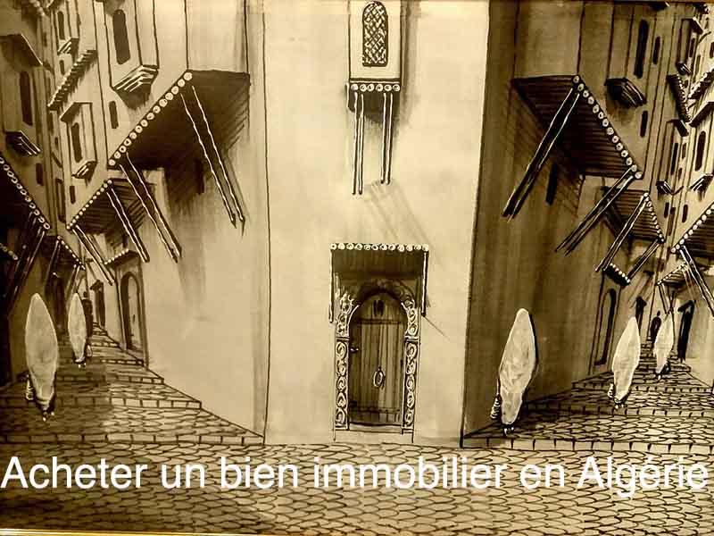 acheter bien immobilier en Algérie