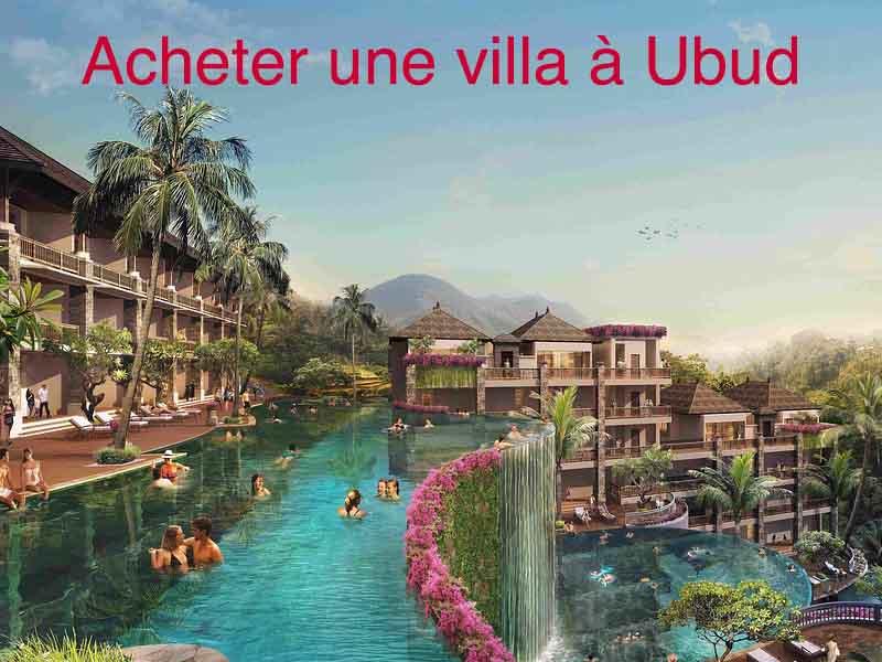 comment acheter villa bali