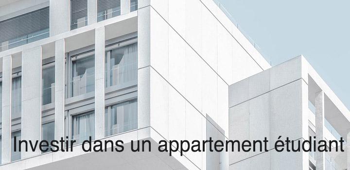Investir dans un appartement étudiant ça peut rapporter!
