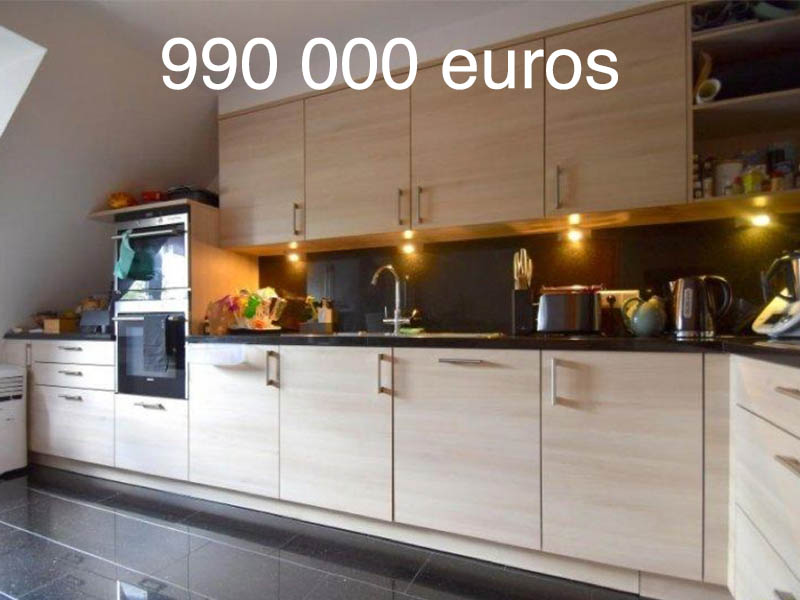 appartement luxembourg 990000 euros