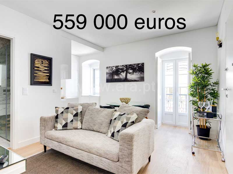 portugal appartement 559000 euros
