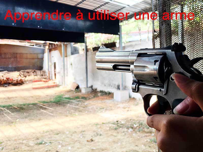 comment utiliser arme