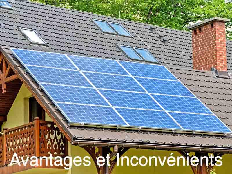 avantages inconvénients investissement solaire