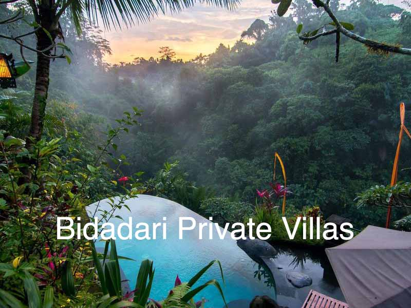 hotel bidadari private villas ubud