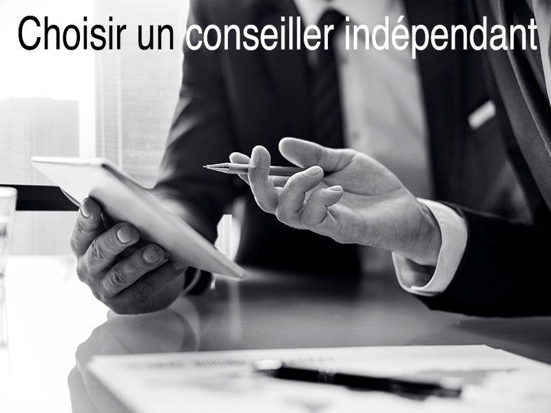 choisir conseiller indépendant