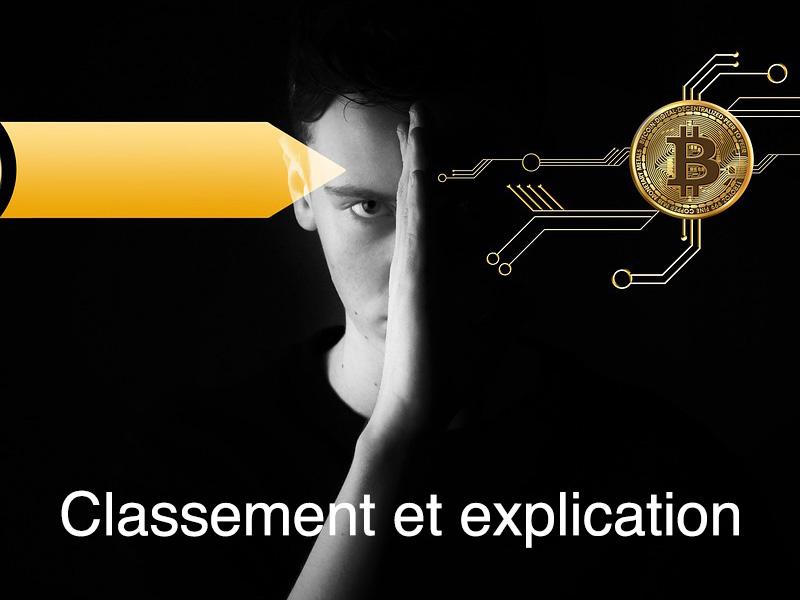 classement nouvelle crypto monnaie