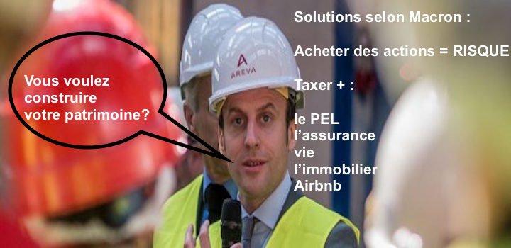 Comment constituer un patrimoine sous Macron?