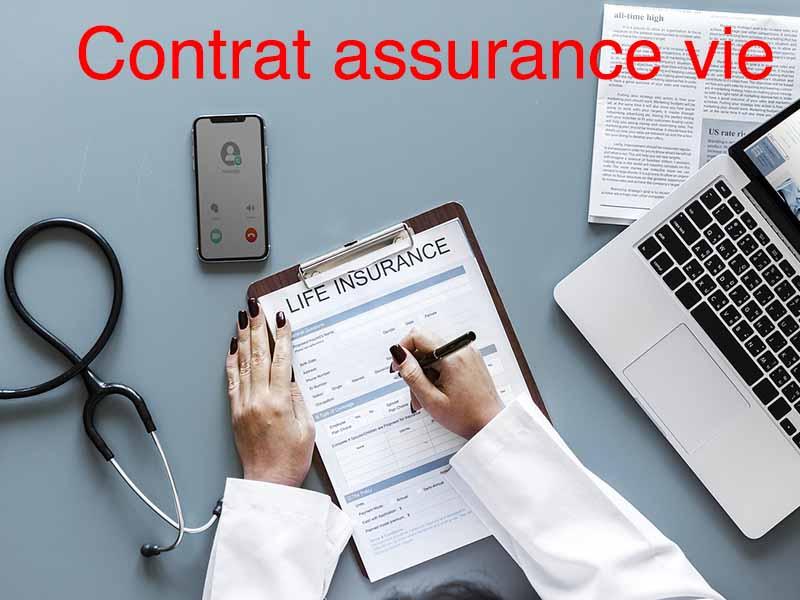 contrat assurance vie