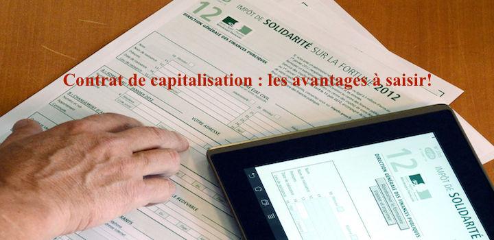 Contrat De Capitalisation Les Avantages