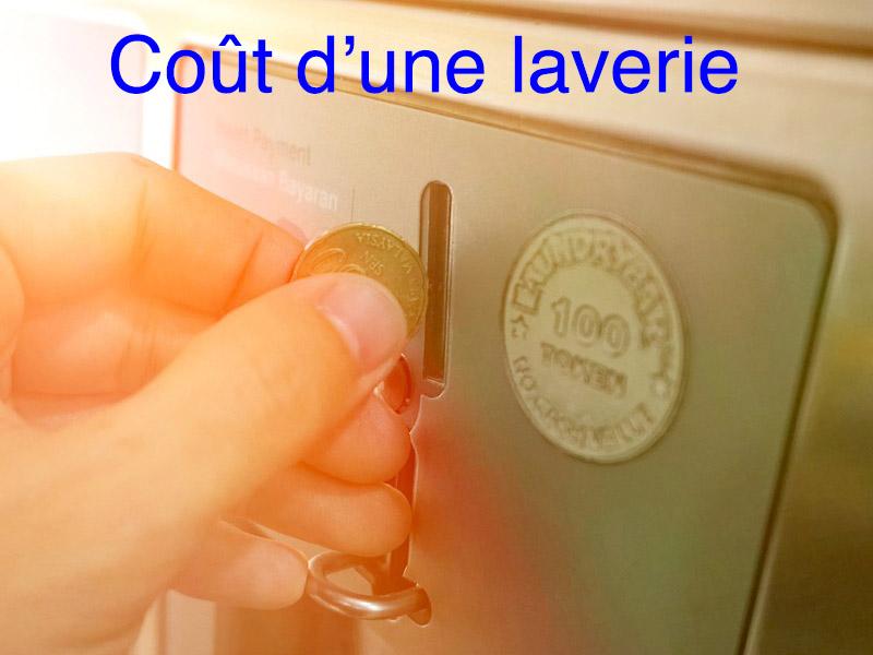 coût laverie