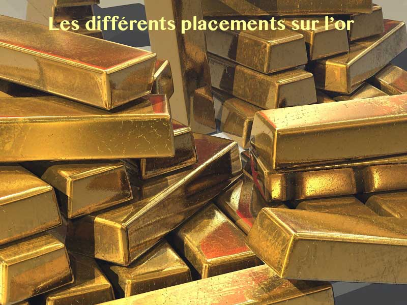 différents placements or