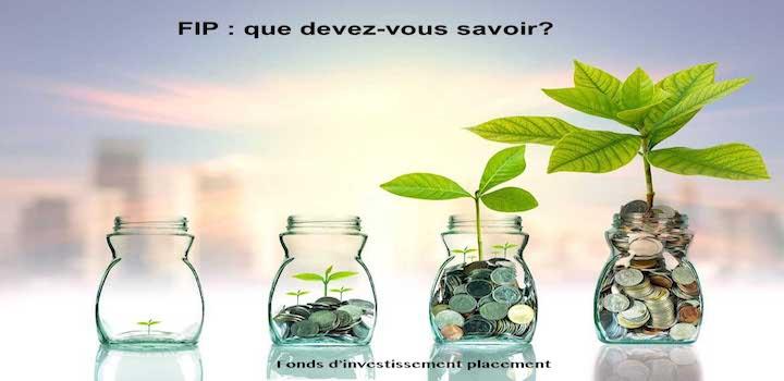 Fonds d'investissement placement FIP  comment tout savoir?