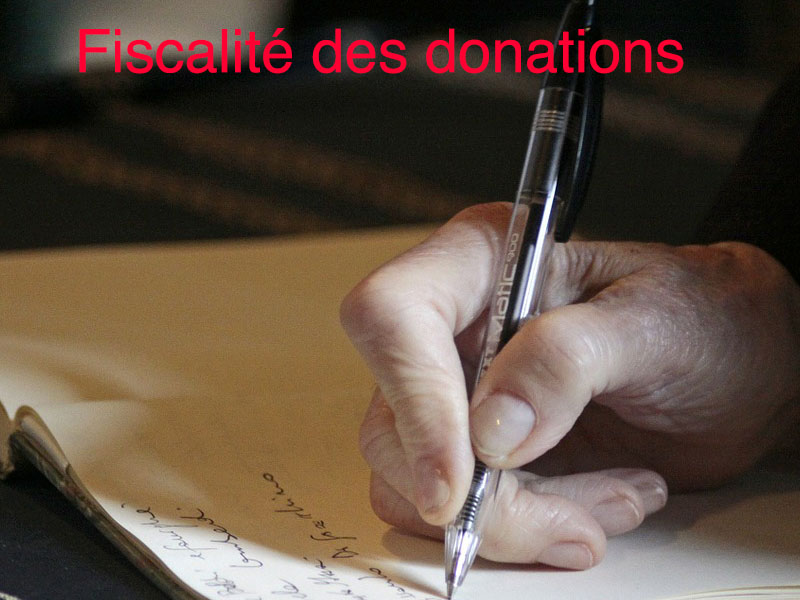 fiscalité des donations