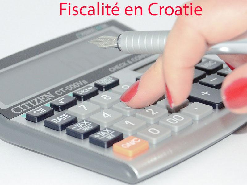 fiscalité en croatie