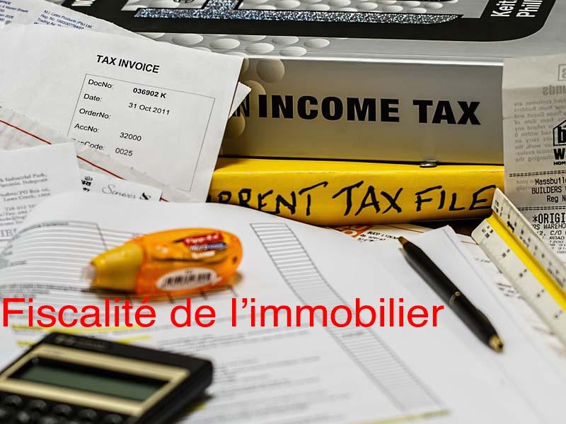 fiscalité immobilier
