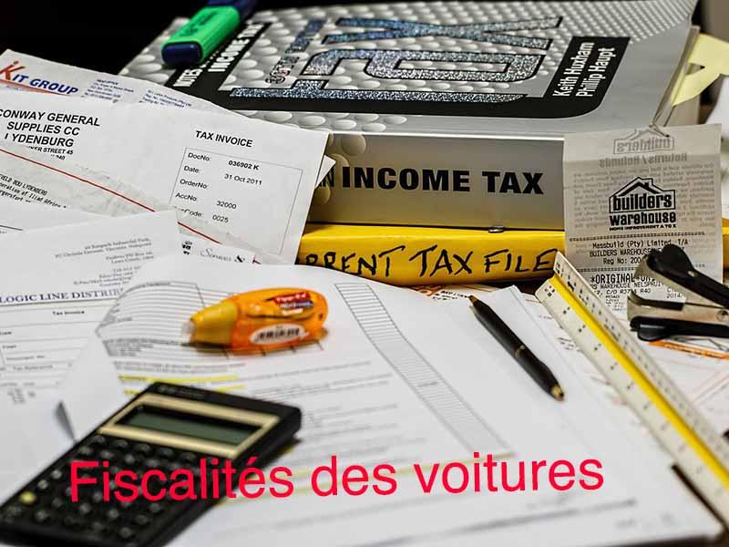 fiscalité voiture de collection