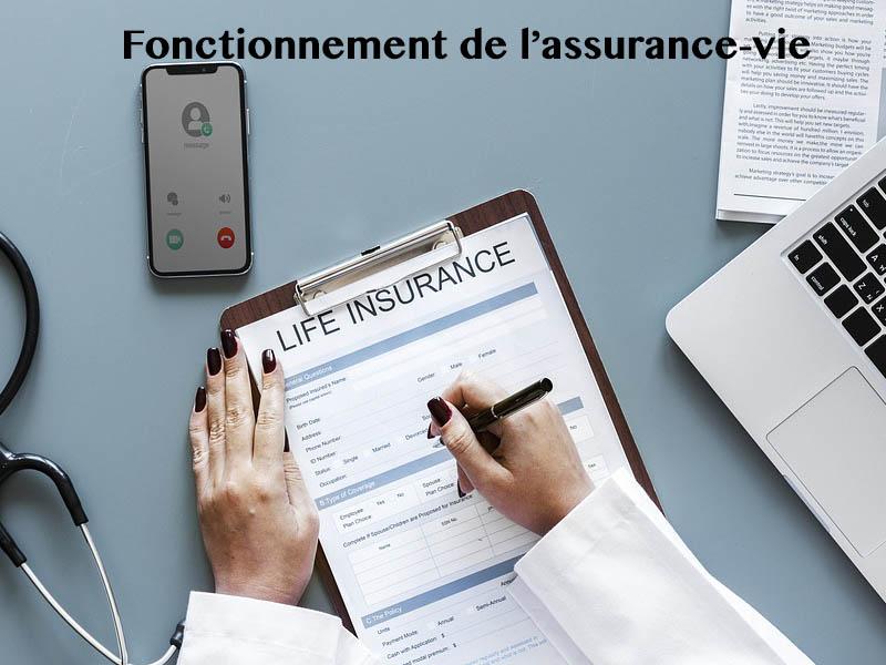 fonctionnement assurance vie