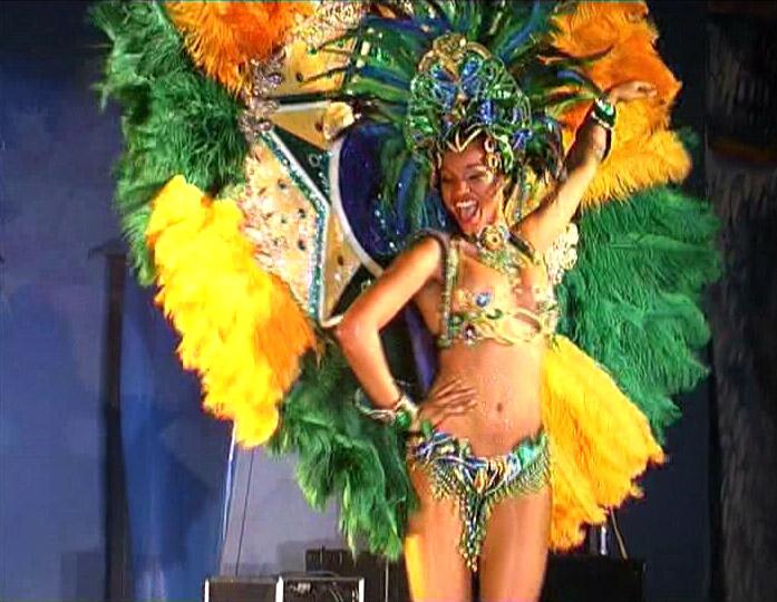 Une brésilienne au carnaval