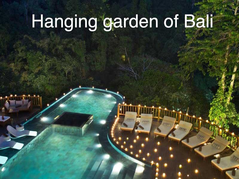 hotel hanging garden of bali
