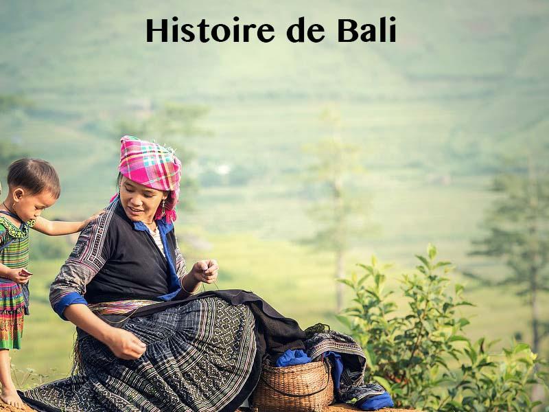 histoire bali