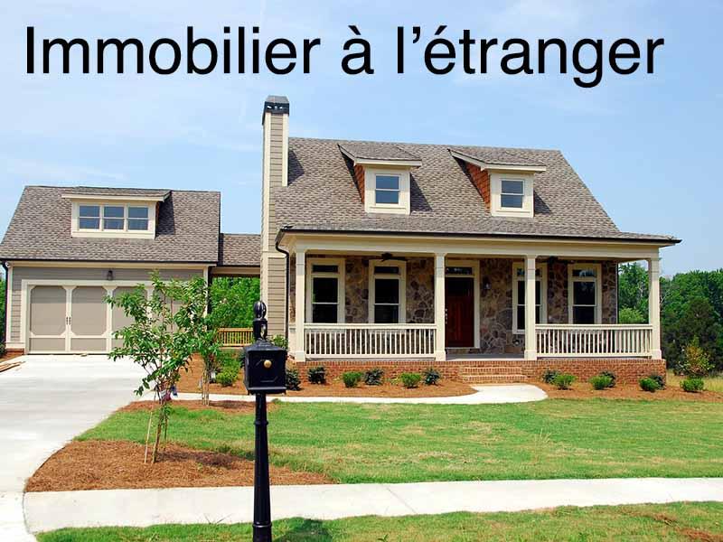 immobilier étranger