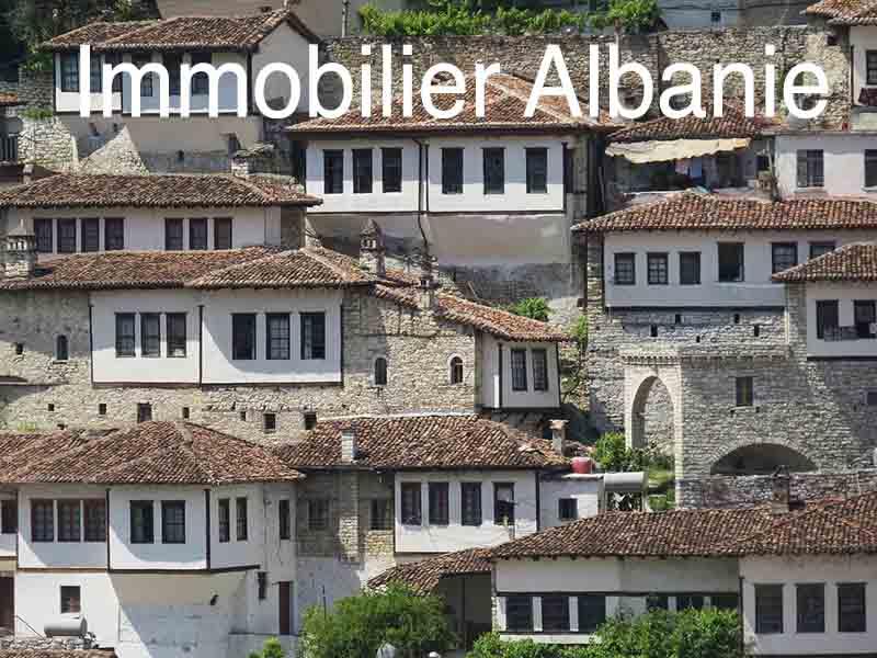 albanie immobilier