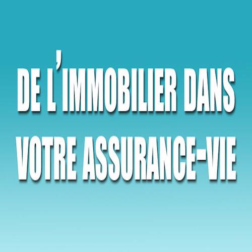 immobilier assurance vie, scpi