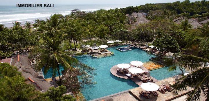 Immobilier Bali entre vacances et surtout rendement