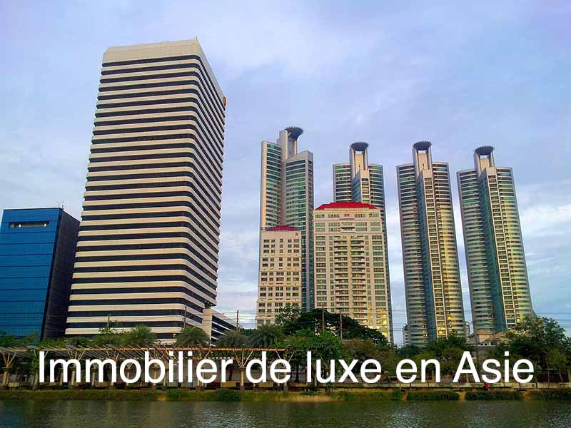 immobilier luxe asie