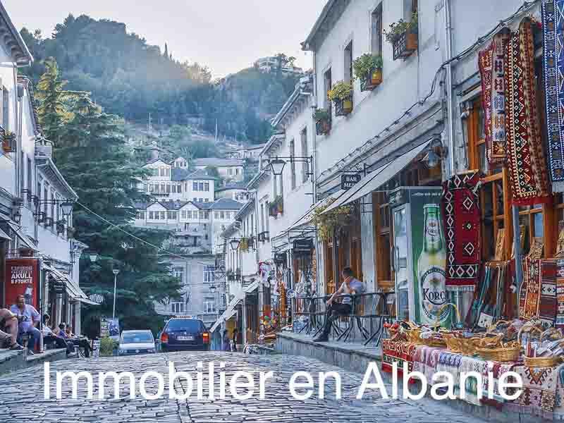 immobilier albanie