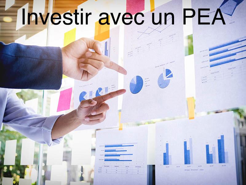 comment investir pea