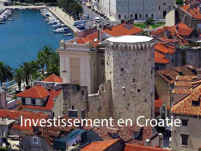 investissement en croatie