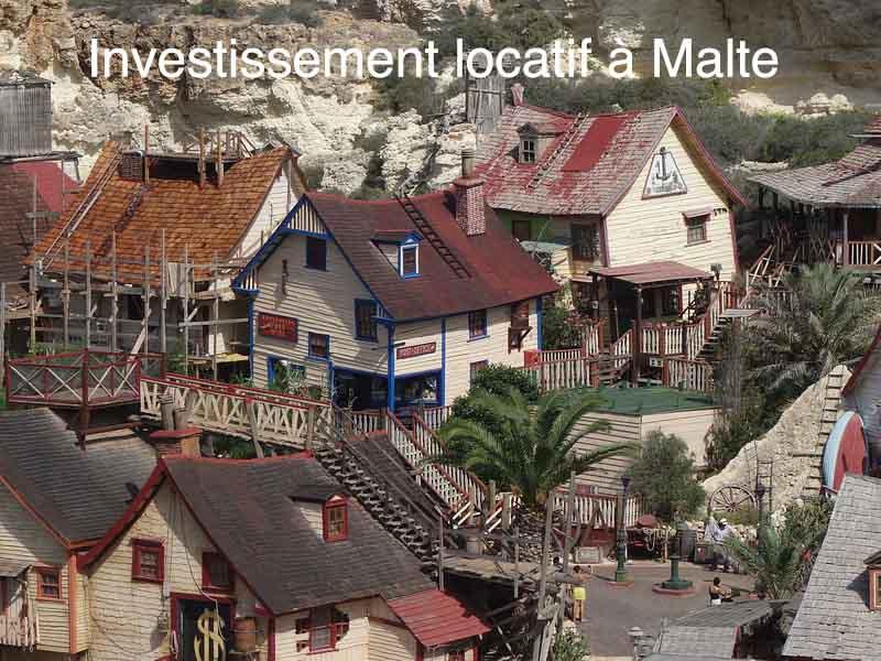investissement locatif à Malte