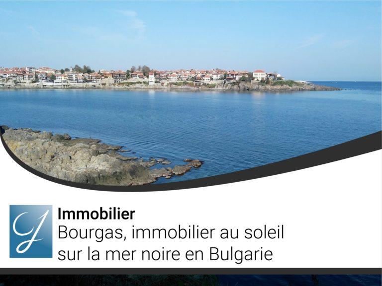 Bourgas, immobilier au soleil sur la mer noire en Bulgarie