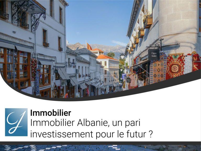 Immobilier Albanie un pari investissementpour le futur ?
