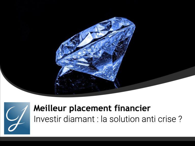 Investir diamant la solution anti crise ?